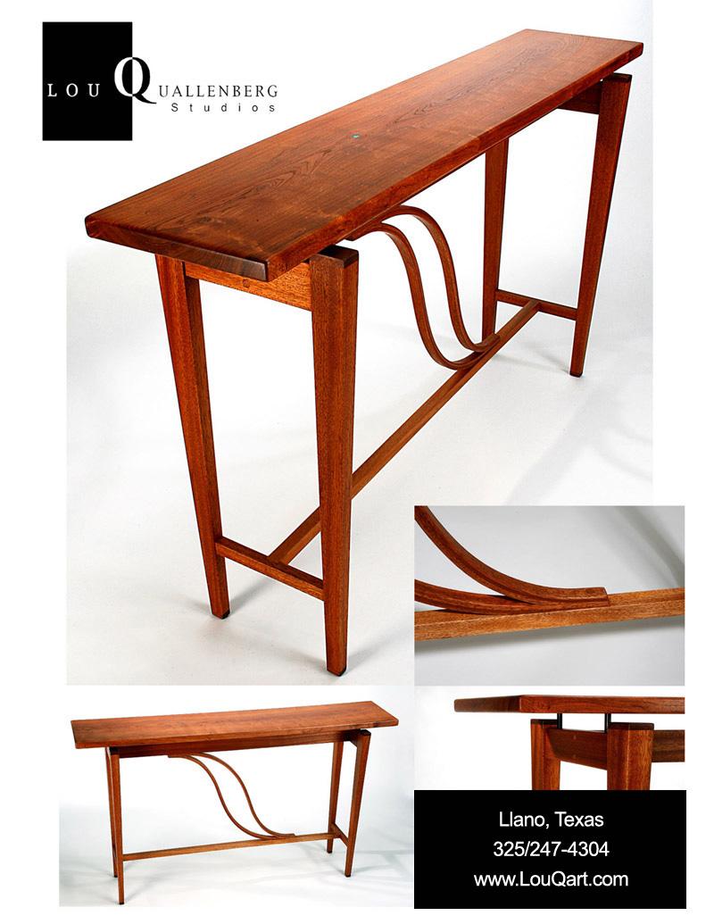 Portfolio Of Contemporary Mesquite Furniture By Lou Quallenberg Studios